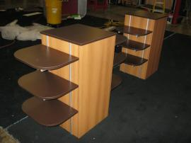 ECO-21C and ECO-22C Podiums with Locking Storage and Adjustable Shelves -- Image 1