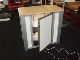 Modified MOD-1278 Modular Counter with Backlighting and Locking Storage -- Image 2