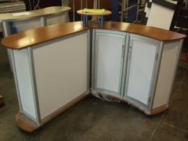 Custom Modular Counter with Storage Constructed with Eco-friendly Materials -- Image 2