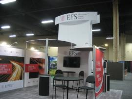 ECO-4003 with Customized Tower Graphic. Reconfigurable into 10x10, 10x20, and 10x30 -- Image 2