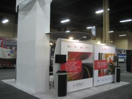 ECO-4003 with Customized Tower Graphic. Reconfigurable into 10x10, 10x20, and 10x30 -- Image 3