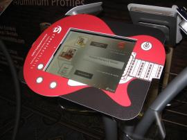 Graphic Solutions for iPad Kiosks Including Clamshell Halos, Face Plates, and Vinyl Application -- Image 2