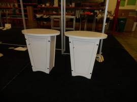 LTK-1001 Tapered Pedestal with Locking Storage (no tools assembly) -- Image 1