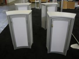 eSmart ECO-20C Podiums with Laminate Infills and Locking Storage -- Image 1