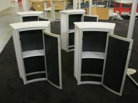 eSmart ECO-20C Podiums with Laminate Infills and Locking Storage -- Image 2