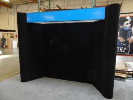 FF-102 Intro 10 ft. Folding Fabric Panel Display -- Image 1