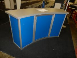MOD-1185 Modular Counter with Locking Storage and Front Graphic -- Image 2