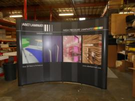 Quadro EO-4B Pop Up Display with Mural Graphics -- Image 1