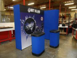 QD-134 Quadro S Pop Up Display with Graphic Mural Panels -- Image 2