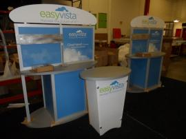 Custom Product Kiosks with LTG-1001Tapered Pedestals