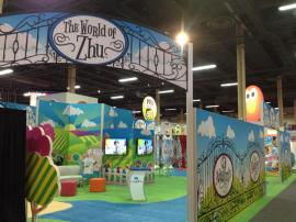 RENTAL: 30' x 60' Island with SEG Fabric Graphics -- Image 1