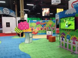 RENTAL: 30' x 60' Island with SEG Fabric Graphics -- Image 2