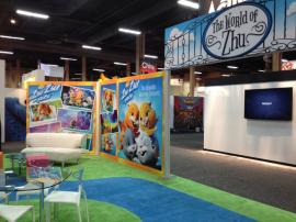 RENTAL: 30' x 60' Island with SEG Fabric Graphics -- Image 4