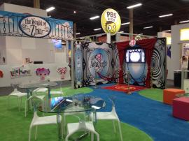 RENTAL: 30' x 60' Island with SEG Fabric Graphics -- Image 6