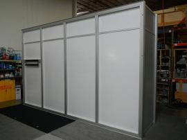 RENTAL:  15 ft. Wide x 10 ft. High Storage Room Structure with Locking Door -- Image 2