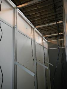 RENTAL:  15 ft. Wide x 10 ft. High Storage Room Structure with Locking Door -- Image 3