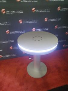 MOD-1432 Bistro Table Charging Station with (8) USB Ports and LED Perimeter Lights -- Image 2