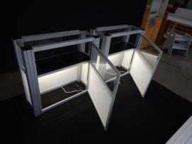 RENTAL: (2) RE-502 Display Cases with Lighting and Locking Door -- Image 3