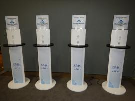 RENTAL: (4) RE-701 Charging Stations With Graphics -- Image 1