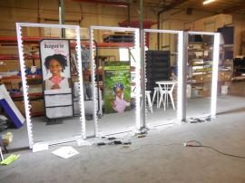 "(4) 96"" x 48"" SuperNova Double-sided Lightboxes (shown without graphics) -- Image 2"