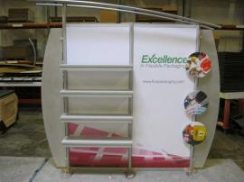 Modified eSmart ECO-2079 with 10x10 Conversion Kits, SEG Fabric Graphics, Shelves, ECO-5C Counter and Custom LED Lighting -- Image 6