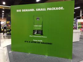Large Format SEG Tension Fabric Graphic Wall