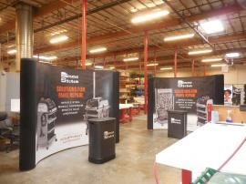 10 ft. Pop Up Displays with Case-to-Counter Conversions