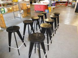 OTM Portable Chairs in Black