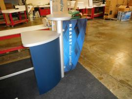 Custom Counter with Direct Print Graphic and Storage