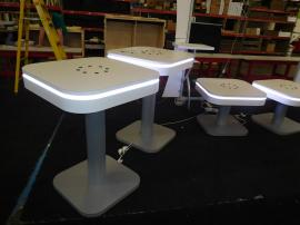 MOD-1437 and MOD-1441 Charging Tables with LED Perimeter Lights