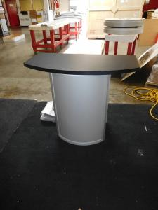 Custom MOD-1267 with Larger Counter Top and Locking Storage
