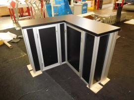eSmart Custom LED Backlit Modular Counter with Locking Storage