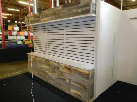 Custom 40 x 40 Island with Extensive Slatwall, Storage, LED Lightboxes, and Canopy Ceilings -- Image 3