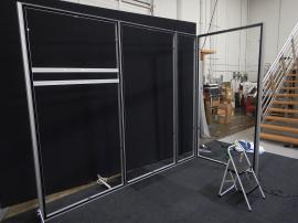 Gravitee One-Step Modular Panel Frames without Graphics