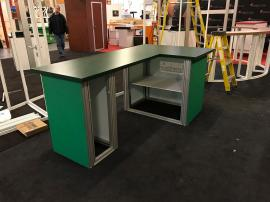 SuperNova Backlit Counters with Locking Storage