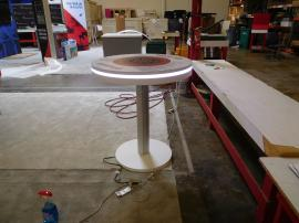 MOD-1432 Bistro Charging Table with Graphics