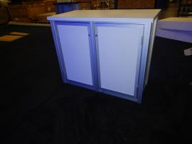 RENTAL: RE-1567 Backlit Counter and Graphics SEG Fabric Graphics