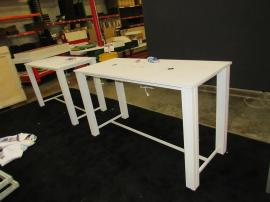 (2) Modular Tables with MOD-227 Wireless/Wired Charging Ports