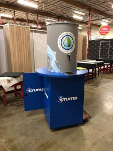 Custom Water Cooler with Graphics, Internal Storage and Pump
