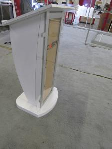 MOD-1549 Lightweight Modular Lectern for Trade Shows or Events
