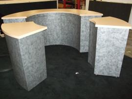 Custom, Fully-assembled Modular Reception Counter