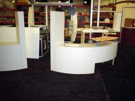 Custom Trade Show Counters and Showcases -- Image 1