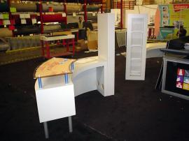 Custom Trade Show Counters and Showcases -- Image 2