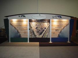 Visionary Designs 10' x 20' Trade Show Rental Exhibit -- Image 1
