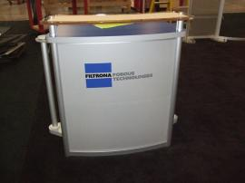VK-2910 Magellan MOR Portable Hybrid Displays with (2) Custom LTK-1109 Modular Pedestals -- Image 2