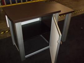 MOD-1260 Modular Trade Show Counter with Locking Storage -- Image 2