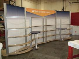 Custom Visionary Designs 10' x 20' with Counter -- Image 1