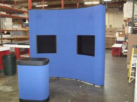 QD-103a Quadro S Pop Up Display with Shadowboxes -- Image 2