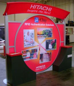 10' x 10' Visionary Designs Modified VK-1012 Hybrid Display with Custom Mounted Canopy