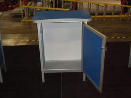 MOD-1300 Reception Counters with Locking Storage -- Image 2